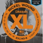 D´Addario EXL140-8 Light Top/Heavy Bottom (10-74)