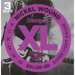 D´Addario EXL120-3D Super Light (9-42)