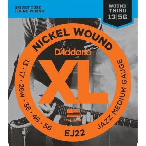 D´Addario EJ22 Jazz Medium (13-56)
