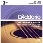 D´Addario EJ26-3D Custom Light (11-52). Pack 3 juegos