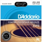 D´Addario EXP16 Light (12-53). Cuerdas guitarra acústica