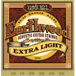 Ernie Ball Earthwood 10-50 Extra Light. Cuerdas acústica
