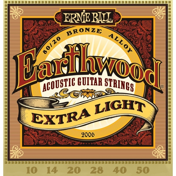 cuerdas para guitarra ac stica ernie ball earthwood extra light 10 50. Black Bedroom Furniture Sets. Home Design Ideas
