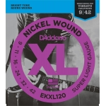 D´Addario EKXL120 Super Light Tremolo (09-42)