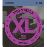 Daddario Pro Steels EPS520 Super Light (09-42)