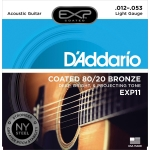 D´Addario EXP11 Light (12-53). Cuerdas guitarra acústica
