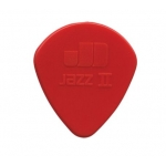 Púa Dunlop Nylon Jazz II (1.18 mm) roja