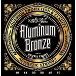 Ernie Ball 10-50 Aluminum Bronze 2570 Extra Light