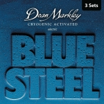 Pack 3 juegos Dean Markley Blue Steel REG (10-46)