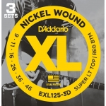 Daddario EXL125-3D Super Light/Regular (9-46)
