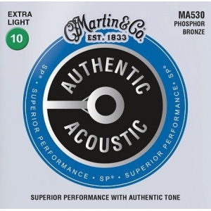 Martin MA530 Authentic SP Phosphor Bronze Extra Light 10-47