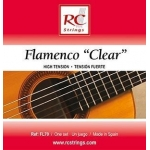 Royal Classics Flamenco Clear. Cuerdas guitarra Flamenca