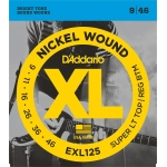 D´Addario EXL125 Super Light/Regular (9-46)