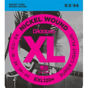 D´Addario EXL120+ XL Super Light Plus (9.5-44)