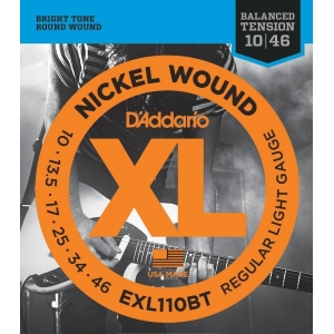 D´Addario EXL110BT Balanced Tension Regular Light (10-46)