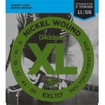 Daddario EXL117 Medium/Extra Heavy (11-56)